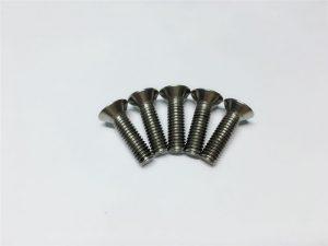पाठीच्या शस्त्रक्रियेसाठी एम 3, एम 6 टायटॅनियम स्क्रू फ्लॅट हेड सॉकेट हेड कॅप टायटॅनियम फ्लॅंज स्क्रू