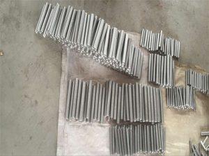 inconel 718 625 600 601 टॅप हेक्स स्टड बोल्ट आणि नट फास्टनर M6 M120